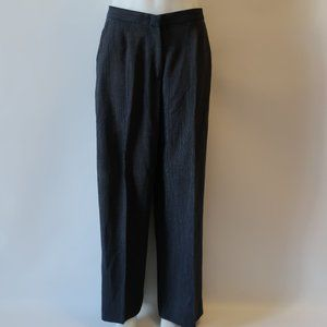 MAXMARA TWEED PATTERN WOOL BLEND TROUSER PANTS 14*
